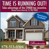 New Homes in Atlanta at Riverbrooke