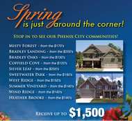 New Homes in Phenix City Built by Jeff Lindsey Communities