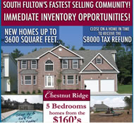 New Homes in Atlanta at Chestnut Ridge