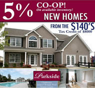 New Homes in Atlanta at Parkside