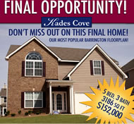 New Homes in Atlanta at Kades Cove