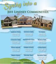 New Homes in Atlanta Built By Jeff Lindsey Communities