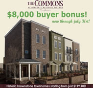 New Townhomes in Atlanta at The Commons