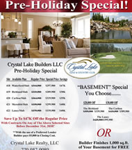 New Homes in Atlanta at Crystal Lake Golf & Country Club