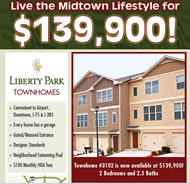 New Townhomes in Atlanta at Liberty Park