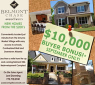 New Homes in Atlanta at Belmont Chase