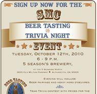 Beer Tasting and Trivia Night with Atlanta SMC