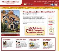 New Homes in Atlanta Built by Monte Hewett Homes