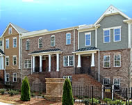 New Townhomes in Atlanta at The Haven on Briarwood