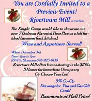 Rivertown Mill New Homes in Atlanta
