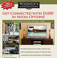 Woodstock Downtown Condos