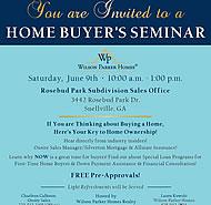 Rosebud Park Home Buyers Seminar