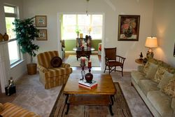 Kenmare great room opens to sunroom