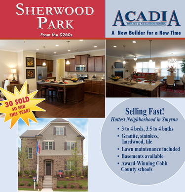 Acadia Homes And Neighborhoods Invites You To Check Out Sherwood Park Featuring Beautiful New In Smyrna Choose From A Variety Of Home Designs With 3
