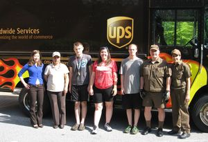 UPS and Volunteers