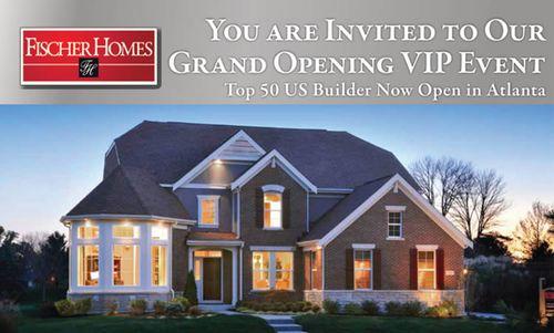 Fischer Homes' Grand Opening Vip Event - Thursday, September 12Th