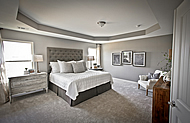 Master Bedroom - Liberty Crossing Model Home