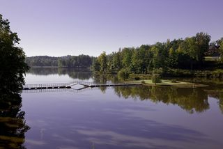 Breathtaking scenery is just one of many things that drew Acadia Homes & Neighborhoods to Sterling on the Lake in Flowery Branch - Newland Communities