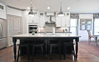 Acadia Homes - The Kitchen at Kirkwood Green Model Home