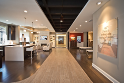 Inside the Acadia Homes  Design Gallery