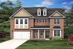 Paran Homes - Woods of Midvale - Azalea Floor Plan - small